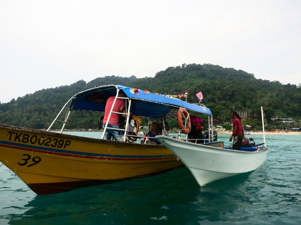 Abschied vom Paradies -Überfahrt von den Perhentian Islands